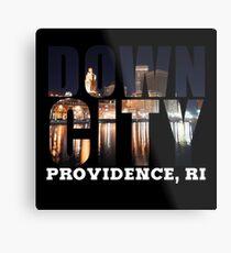 Downcity Providence, Rhode Island Metal Print
