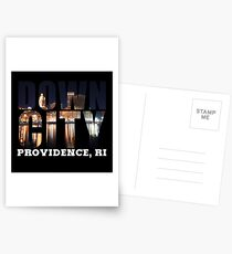 Downcity Providence, Rhode Island Postcards