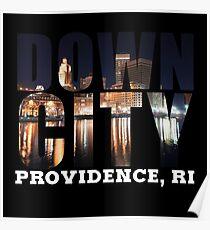 Downcity Providence, Rhode Island Poster