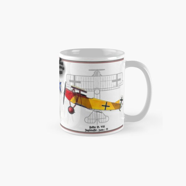 Oberleutnant Lothar Freiherr von Richthofen Classic Mug
