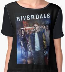 riverdale - May yet be there, and godwit, if we can   Women's Chiffon Top