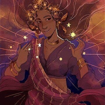 Tala, Philippine Goddess of the morning by belldandy27