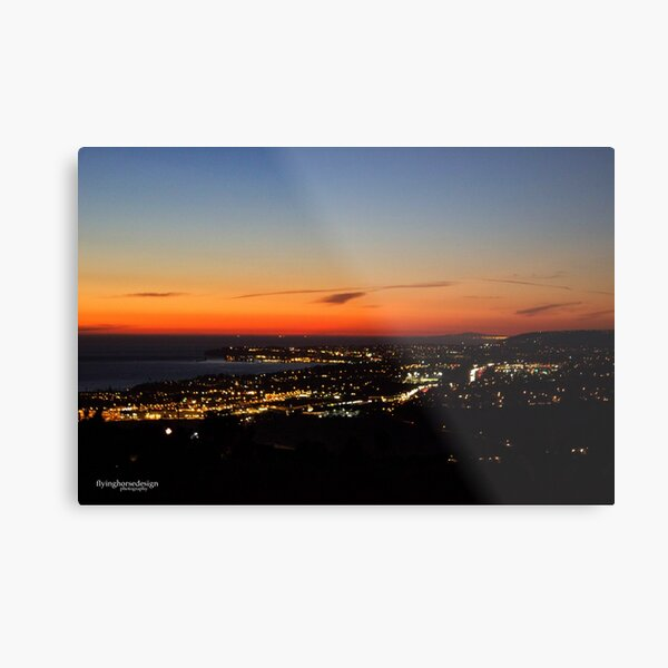 SoCal Sunset Fall 2017 Metal Print
