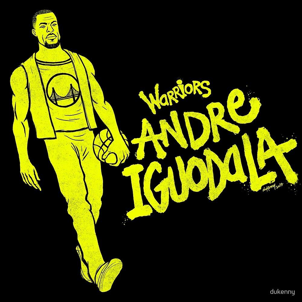 Iguodala - Warriors by dukenny
