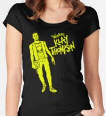 Thompson - Warriors Women's Fitted Scoop T-Shirt