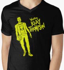 Thompson - Warriors Men's V-Neck T-Shirt