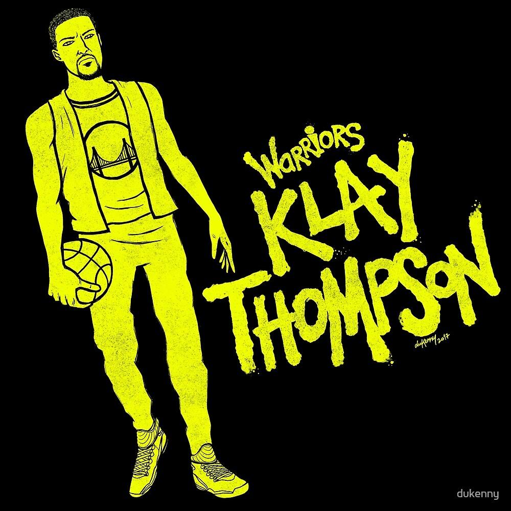 Thompson - Warriors by dukenny