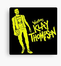 Thompson - Warriors Canvas Print