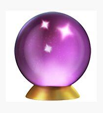 Crystal Ball Emoji Photographic Print