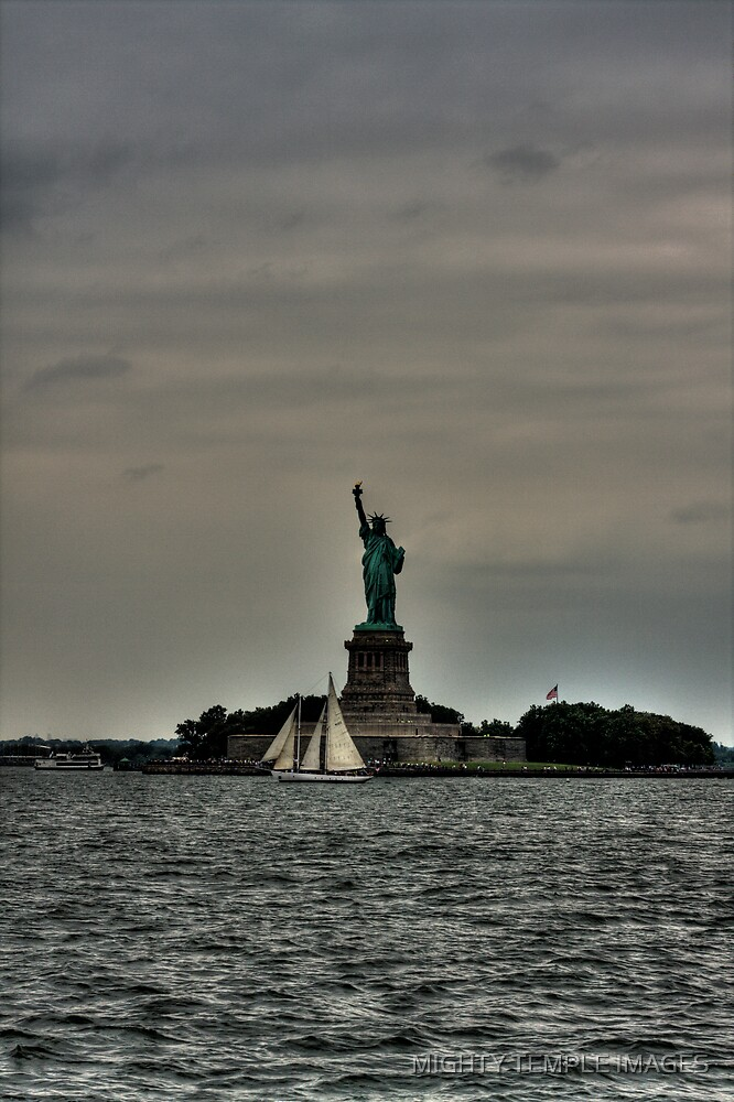 Lady Liberty by MIGHTY TEMPLE IMAGES