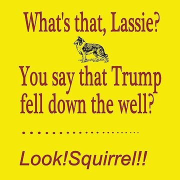 Squirrel Trumps Trump by LWLex