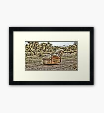 The Lone Chair Framed Print