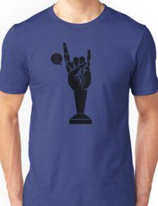 All Black Rock 'n Roll Barista Unisex T-Shirt