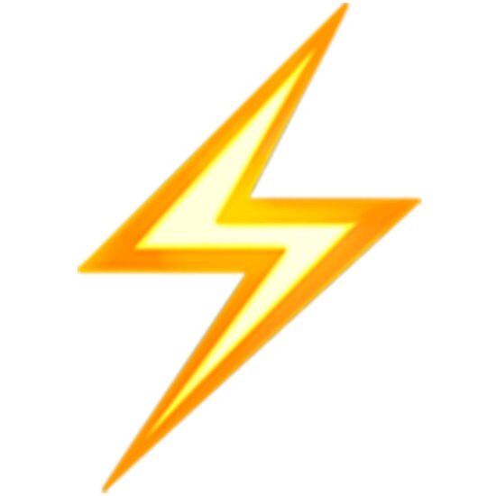 lightning bolt emoji posters by emojiqueen redbubble