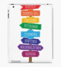 Suburb Sign iPad Case/Skin