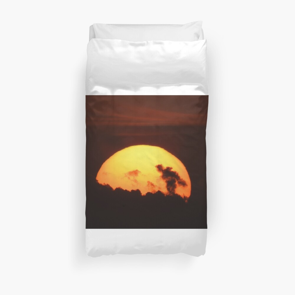 Sun of God Duvet Cover