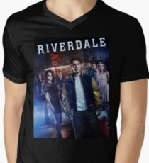 riverdale - I love when clothes make cultural statements and I think personal style is really cool. Men's V-Neck T-Shirt