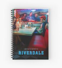 riverdale - The life of a designer is a life of fight. Spiral Notebook