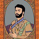 Portrait of Fawad Khan by Emmen Ahmed