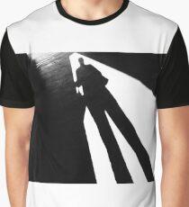 Walking Shadow Graphic T-Shirt