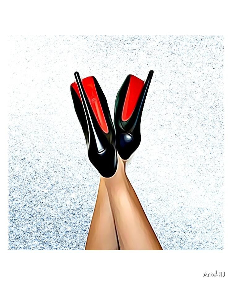 Christian Louboutin Sexy High Heel Red