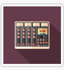 Retro Sound Recorder Sticker
