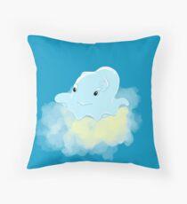 Mini cute jellyfish Throw Pillow