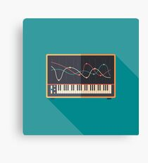 Sound Equalizer Canvas Print