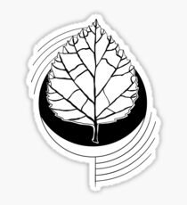 Geometric Birch Sticker