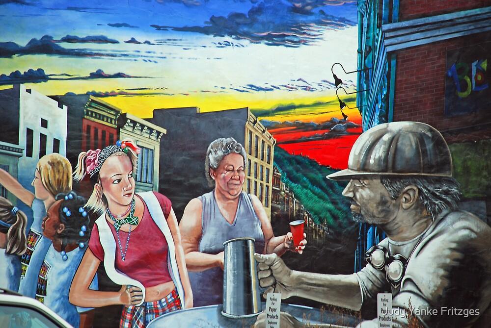 Steel City Salute  by Judy Yanke Fritzges
