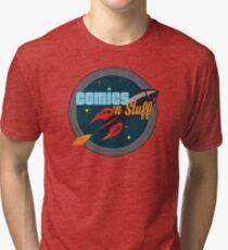 Official Comics 'n Stuff Logo Tri-blend T-Shirt