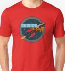 Official Comics 'n Stuff Logo T-Shirt
