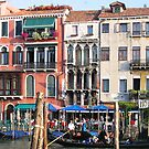 Venice Italy Grand Canal Apartments by Deirdreb
