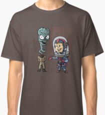 SpaceKid and General TangyRelish of the Neckadon Army Classic T-Shirt
