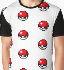 Pokemon Pixel Pokeball - Pokemon Go Graphic T-Shirt