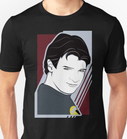 Nathan Fillion is Captain Hammer T-Shirt