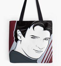 Nathan Fillion is Captain Hammer Tote Bag