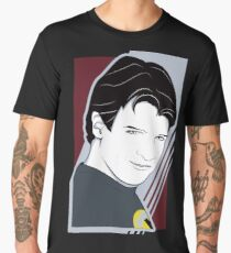 Nathan Fillion is Captain Hammer Men's Premium T-Shirt