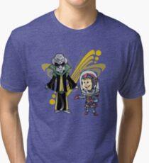SpaceKid and Space Rock Singing Sensation Quartz Supremo Tri-blend T-Shirt