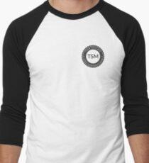 Vintage TSM Boyscout Badge Dark Men's Baseball ¾ T-Shirt