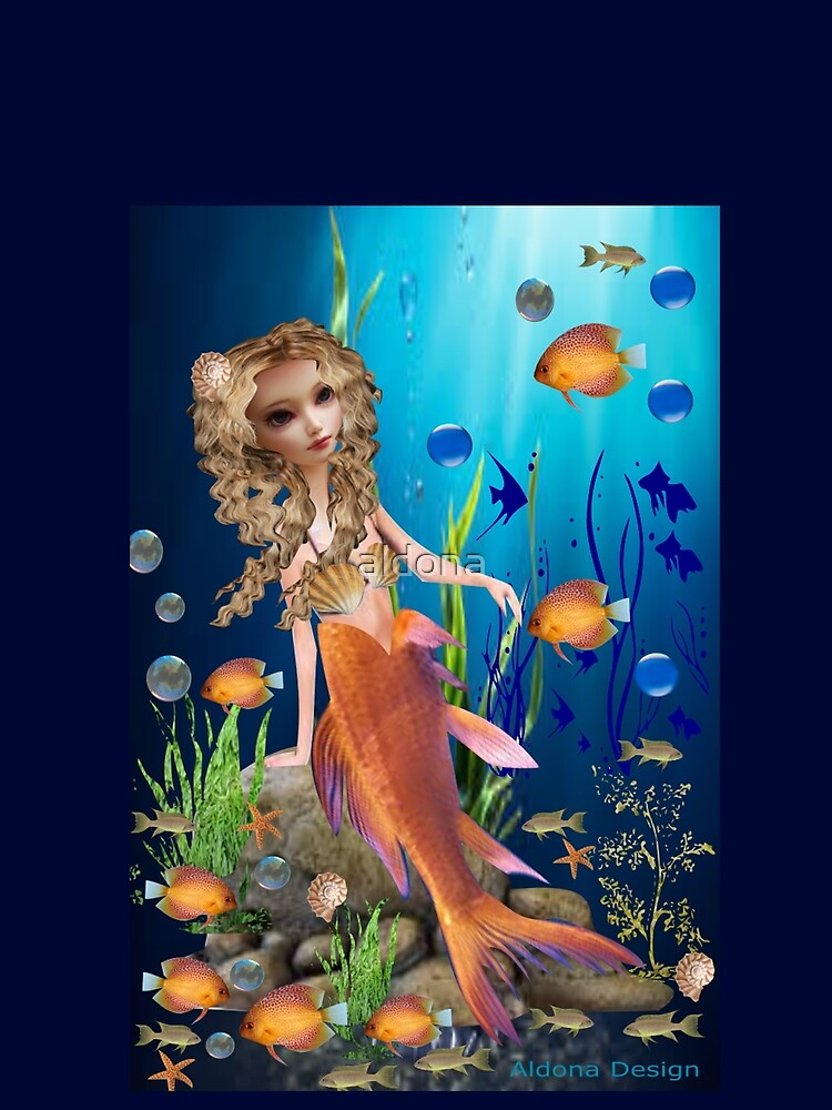 Mermaid (1400 views) by aldona
