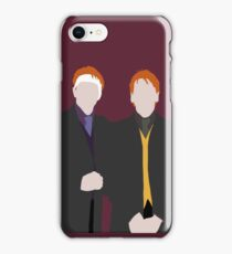 Weasley Twins iPhone Case/Skin