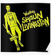 Livingston - Warriors Poster