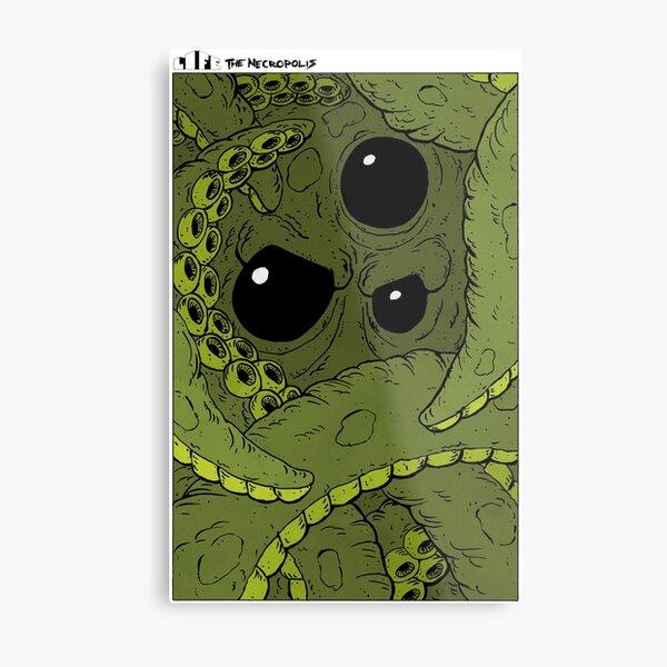 Life The Necropolis: Into Madness Metal Print