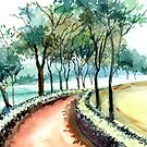 Jogging Track by Anil Nene