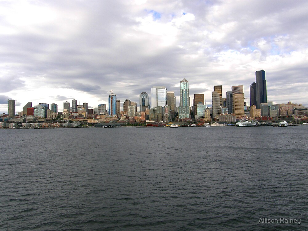 Seattle Skyline by Allison Rainey