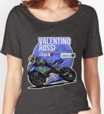 Valentino Rossi - 2015 Losail Women's Relaxed Fit T-Shirt