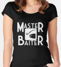 Master Baiter Women's Fitted Scoop T-Shirt
