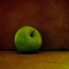A Green Apple by Kitsmumma