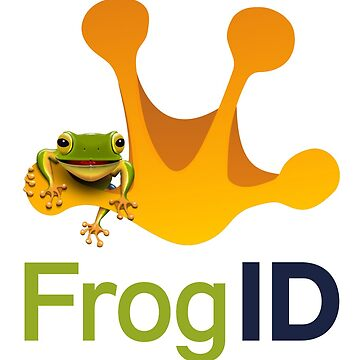 Frog ID on white by redacedesigns